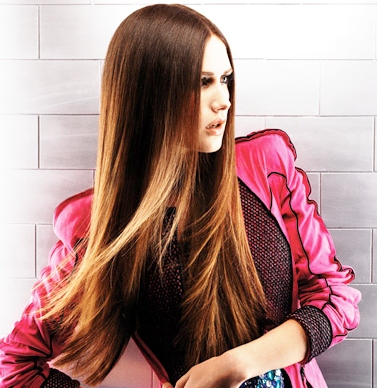 2012-long-brunette-dip-dyed-hairstyle